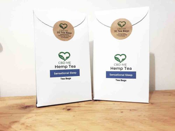 Sensational Sleep Hemp Tea CBD ME