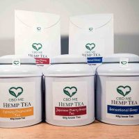 selection of hemp tea cbdme cbd oil uk